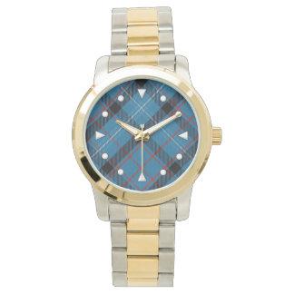 Fitzgerald Tartan Two-tone Watch
