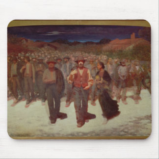 Fiumana (The Human Tide) 1895-96 (oil on canvas) Mouse Pad
