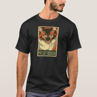 fiv-cat-rescue_2_2_2 T-Shirt