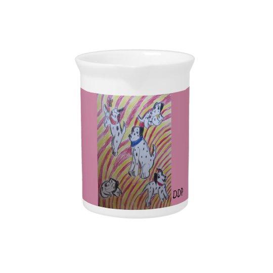 five dalmatians pitcher