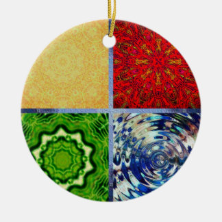 Five Elements Christmas Tree Ornaments