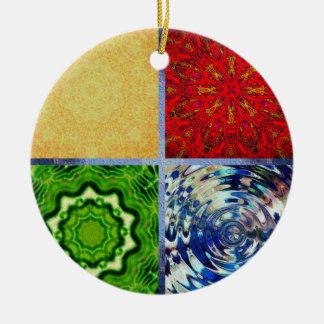 Five Elements Round Ceramic Decoration