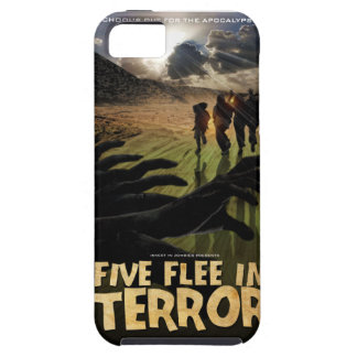 Five Flee in Terror Phone Case