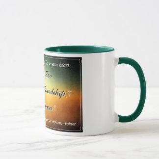 'Five F's' Green 11oz Coffee Mug