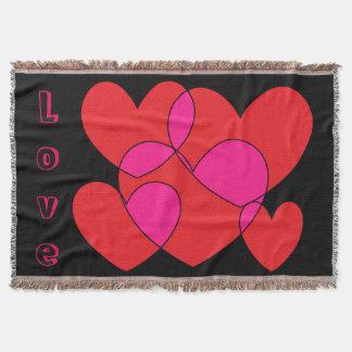 Five Hearts: Love SDL Throw Blanket