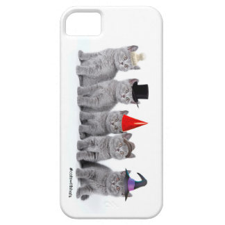 Five Kittencats With Hats (iPhone 5/5s case) iPhone 5 Case