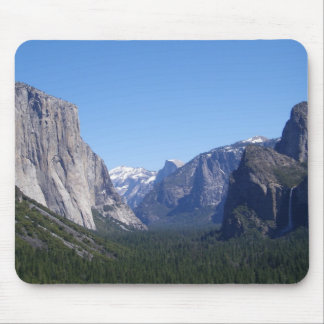 Five Landmarks Yosemite California Mousepad