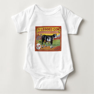Five Legged Cow Baby Bodysuit