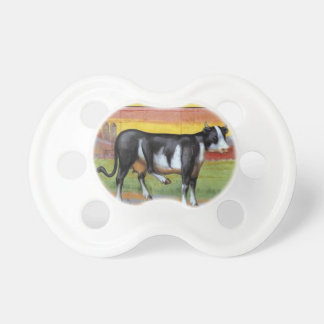 Five Legged Cow Baby Pacifiers