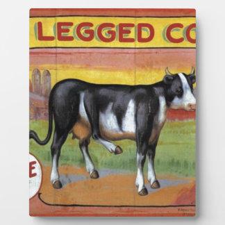 Five Legged Cow Plaque