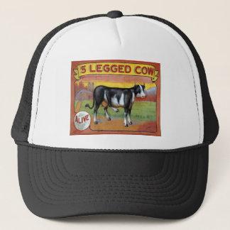Five Legged Cow Trucker Hat