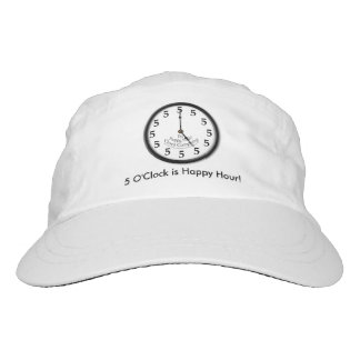 FIVE O'CLOCK CLOCK HAT