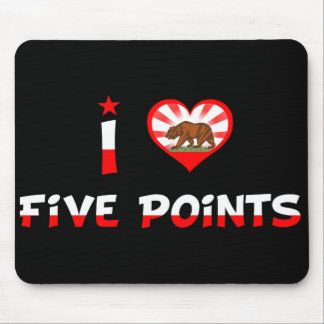 Five Points, CA Mousepads