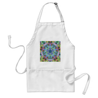 Five Points of Color Abstract Standard Apron