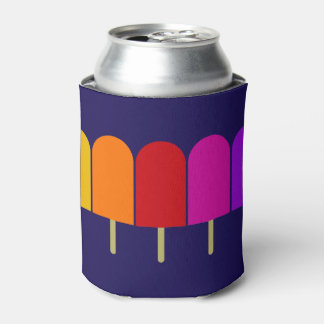 Five Popsicles Can Cooler