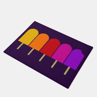 Five Popsicles Doormat