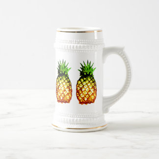 Five Sketchy Pineapples Beer Stein