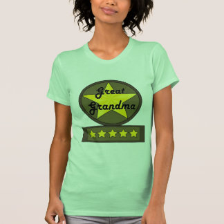 Five Star Great Grandmother Mothers Day Gifts Tees