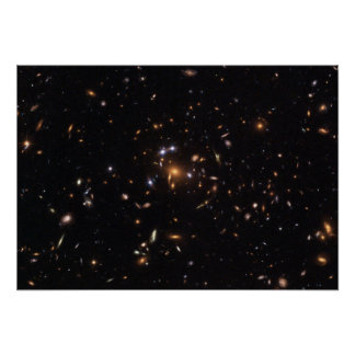 """""""Five-Star"""" Rated Gravitational Lens Poster"""