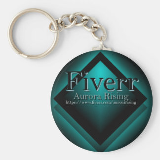 Fiverr Aurorarising Keychain