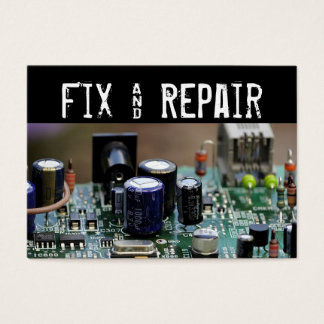 Fix and Repair Business Card