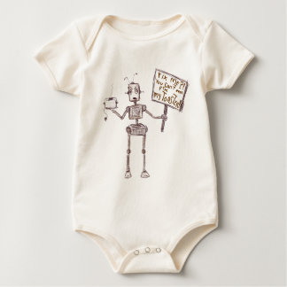 Fix Me? You Casn't Even Fix My Toaster! Baby Bodysuit