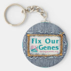 FIX OUR GENES KEY RING