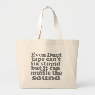Fix Stupid Canvas Bag