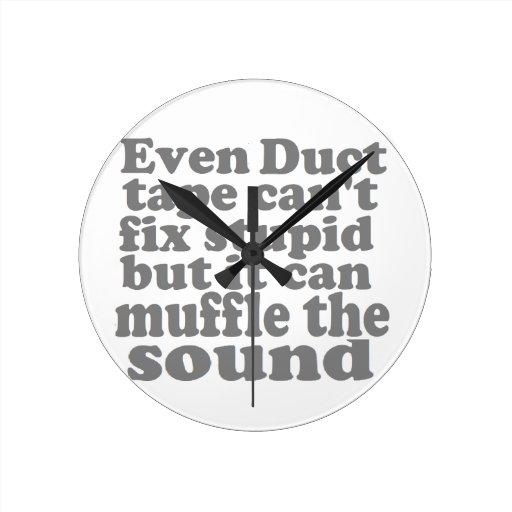 Fix Stupid Round Clocks