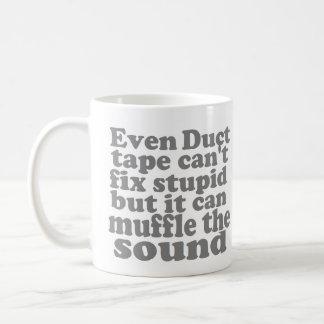 Fix Stupid Basic White Mug