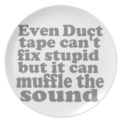 Fix Stupid Dinner Plates