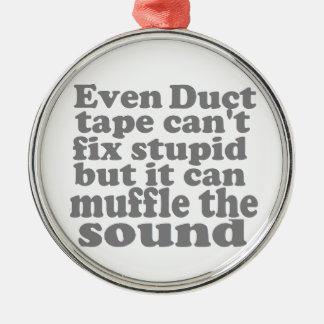 Fix Stupid Silver-Colored Round Decoration