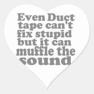 Fix Stupid Heart Sticker
