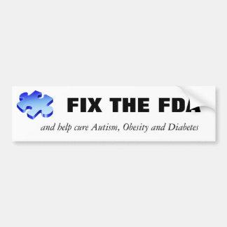 Fix the FDA Bumper Sticker