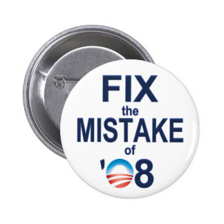 Fix the Mistake of O8 Pinback Buttons