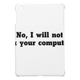 Fix Your Computer Case For The iPad Mini