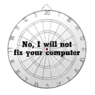 Fix Your Computer Dartboard