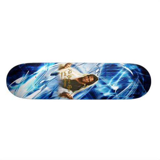 Fix Your Eyes on Jesus 2 Skateboard