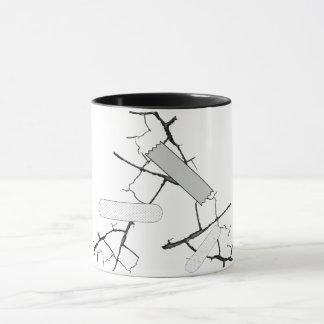 Fixed it! Cracked mug