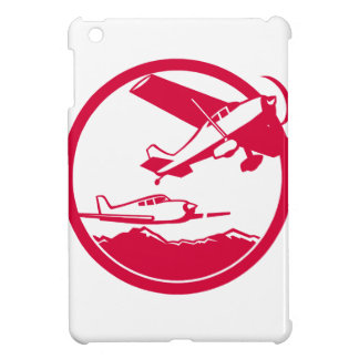 Fixed Wing Aircraft Taking Off Circle Retro Case For The iPad Mini