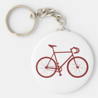 Fixie (Red) Key Ring