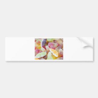 fizzy sweets bumper sticker