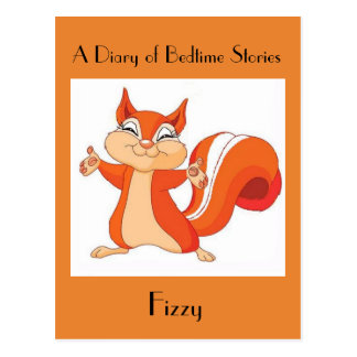 Fizzy the Playful Squirrel Postcard