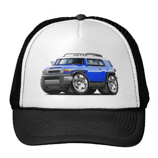 Fj Cruiser Blue Car Trucker Hats