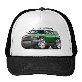 Fj Cruiser Green Car Trucker Hats