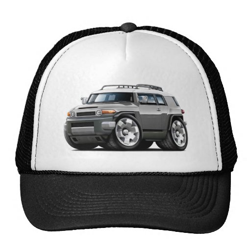 Fj Cruiser Grey Car Hat