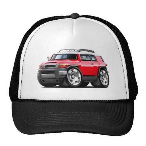Fj Cruiser Red Car Hat