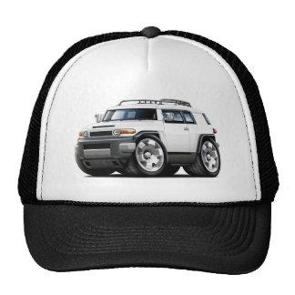 Fj Cruiser White Car Mesh Hat