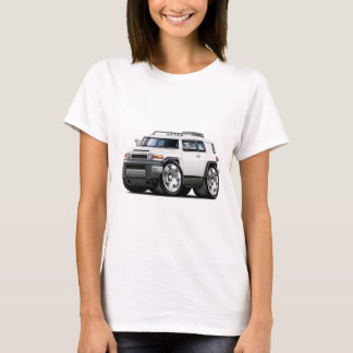 Fj Cruiser White Car T-Shirt