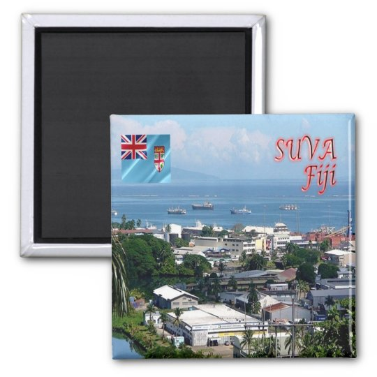 FJ - Fiji - Suva City -  Walu Bay Industrial Magnet
